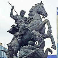 Запись О создании блога Памятники - фото Памятника-фонтана Георгия Победоносца