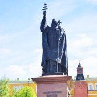 Фото - Памятник Патриарху Ермогену (Москва, Александровский Сад)