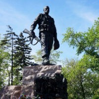 Фото - Памятник воинам-интернационалистам на Поклонной горе в Москве