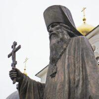 Фото - Памятник Священномученику Серафиму (г. Дмитров)