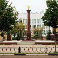 Фото - Стела Город Воинской Славы Дмитров (Московская обл)