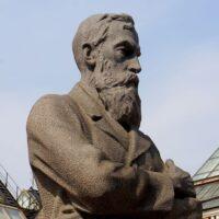 Фото - Памятник Третьякову в Лаврушинском переулке (Москва)