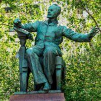 Фото - Памятник Чайковскому на Большой Никитской улице (Москва)