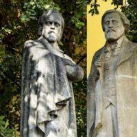 Фото - Памятники Герцену и Огарёву на Моховой улице (Москва)