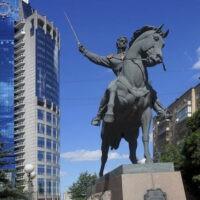 Фото - Памятник Багратиону на Кутузовском проспекте (Москва)